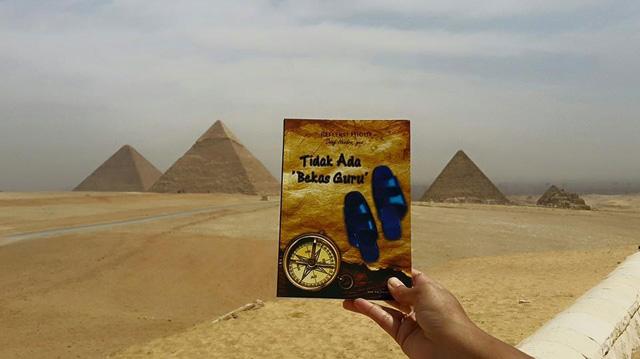 salam bahagia setelah membaca dari bumi cleopatra ....